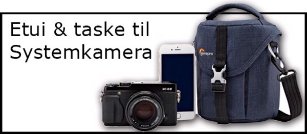 Billede til varegruppe Etuier & tasker til Systemkamera