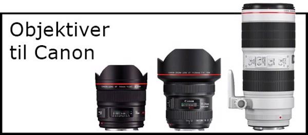 Billede til varegruppe Objektiver til Canon kamera