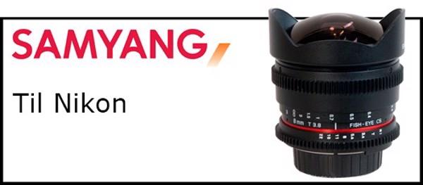 Billede til varegruppe Samyang objektiver