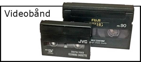 Billede til varegruppe Videobånd