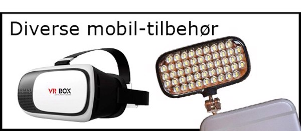 Billede til varegruppe Diverse mobil-tilbehør