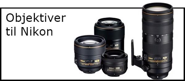 Billede til varegruppe Objektiver til Nikon kamera