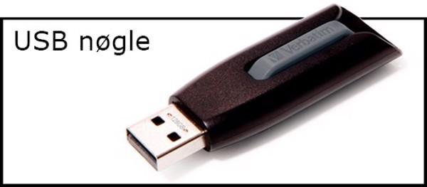Billede til varegruppe USB pen