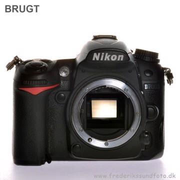 BRUGT Nikon D7000 kamerahus