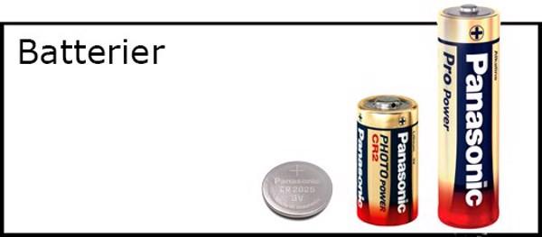 Billede til varegruppe Diverse batterier