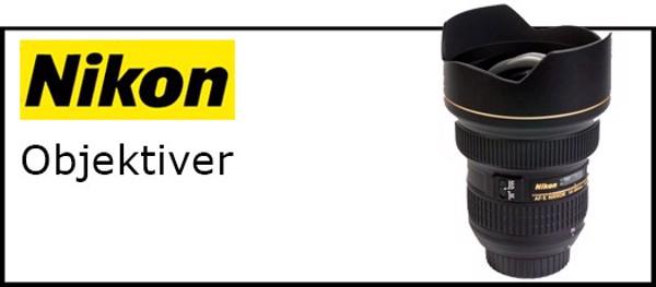 Billede til varegruppe Nikon objektiver