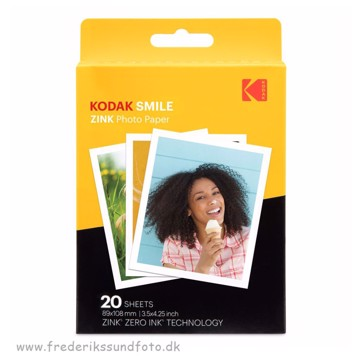 Kodak Zink photo paper 20 ark