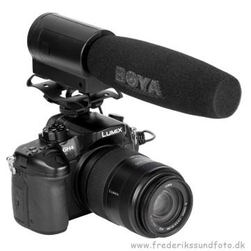 BOYA BY-DMR7 Shotgun Mikrofon m/optager