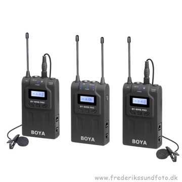 BOYA BY-WM8 Pro-K2 UHF Dual-Channel