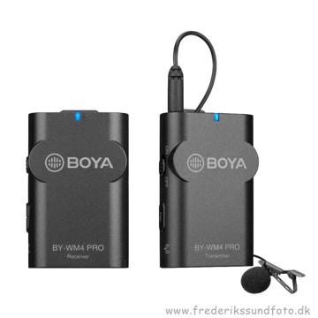 BOYA BY-WM4 Pro sender og modtager samt mikrofon
