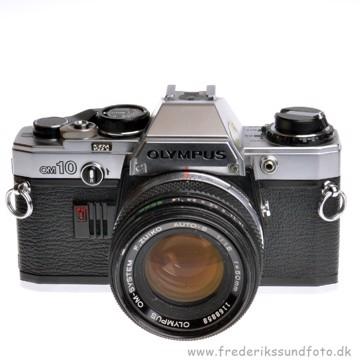 BRUGT Olympus OM-10 m/50mm f/1.8