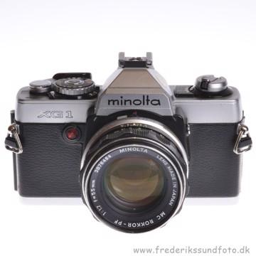 BRUGT Minolta XG-1 m/55mm f/1.7