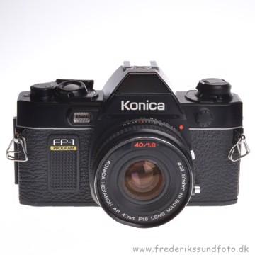 BRUGT Konica FP-1 Program m/40mm f/1.8