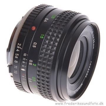 BRUGT Minolta 35mm f/2.8 MC Rokkor