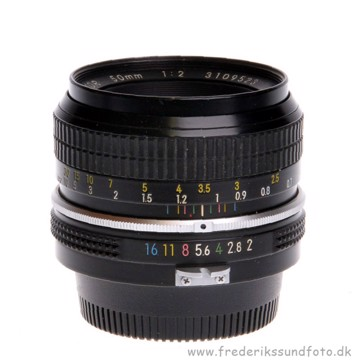 BRUGT Nikon 50mm f/2.0 (Non-AI)