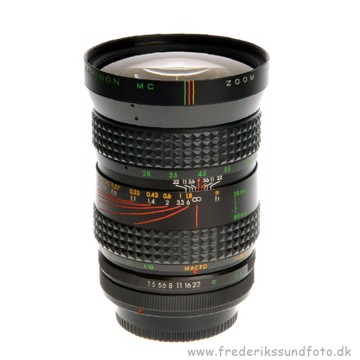 BRUGT Makinon MC Zoom 28-80mm til Canon FD bajonet