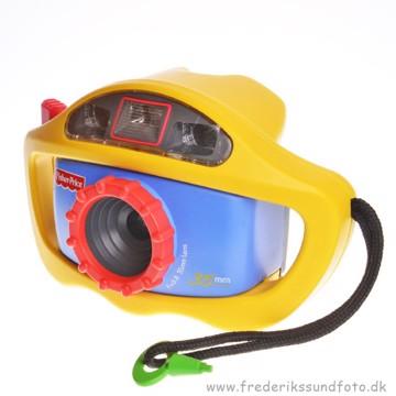 BRUGT Fisher Price børnekamera til film