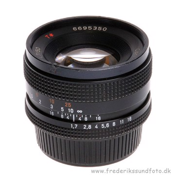 BRUGT Carl Zeiss Planar T* 50mm f/1.7