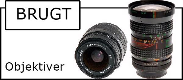 Billede til varegruppe Brugt objektiv til analog