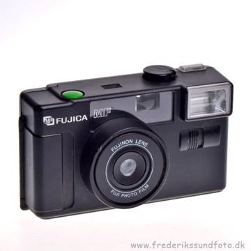 BRUGT Fujica MF (analog kompakt kamera)