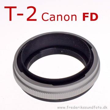 T2 adapter til Canon FD bajonet