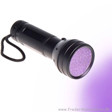 51 LED UV Flashlight (Ravlygte)