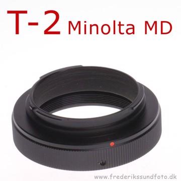 T2 adapter til Minolta MD bajonet