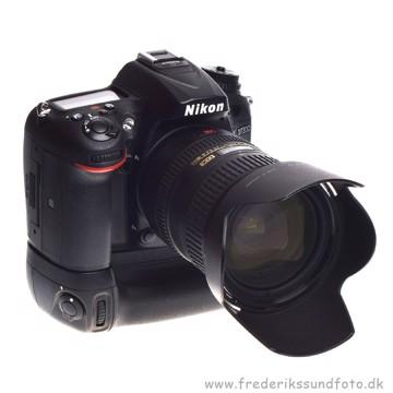 BRUGT Nikon D7200 m/18-200mm VR ED + MB-D15 greb