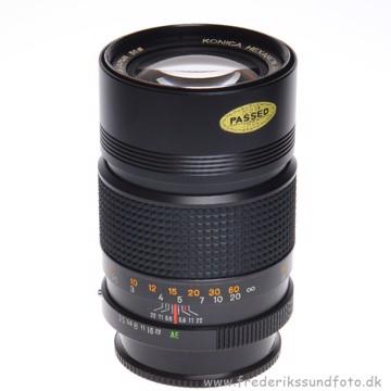 BRUGT Konica HEXANON AR 135mm f/3.5