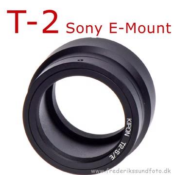 Kipon Adapterring T2 til Sony E mount