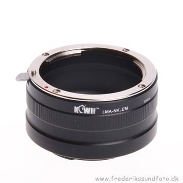 Kiwi LMA Nikon F - Sony Nex/E-mount Adapter