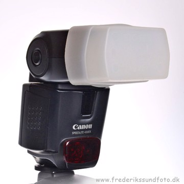 BRUGT Canon Speedlite 430ex m/STO-FEN difusser