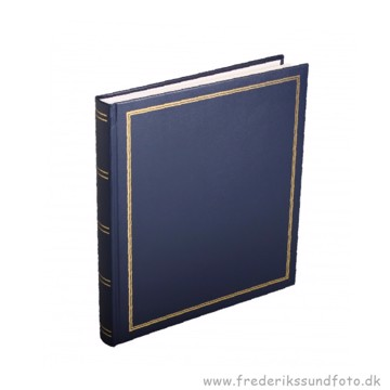 Diamant Fotoalbum med selvklæbende sider blå