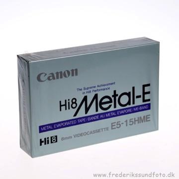 Canon Hi 8 METAL-E Videobånd  15/30min