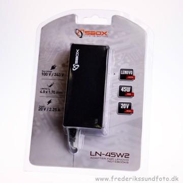 S-Box Strømforsyning LN-45W2  Lenovo 45W 20V 2.25A