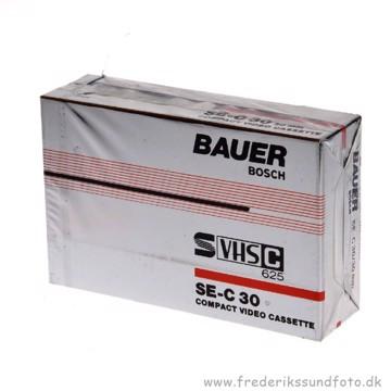 BAUER BOSCH SUPER-VHSc Videobånd