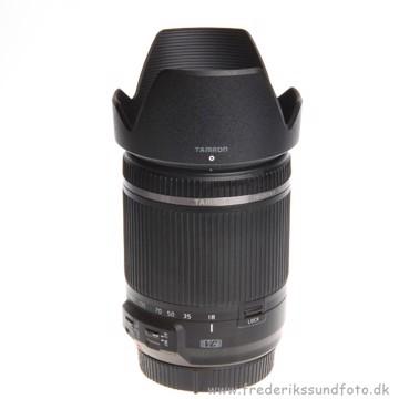 BRUGT Tamron 18-200mm f/3.5-6.3 Di II VC til Canon