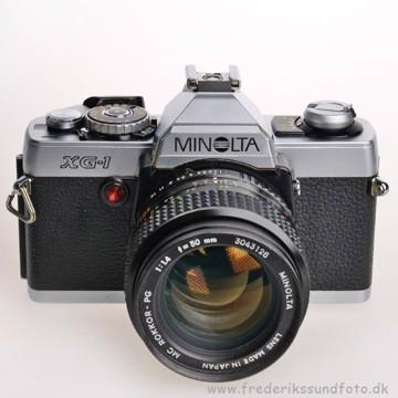 BRUGT Minolta XG-1 m/50mm f/1.4