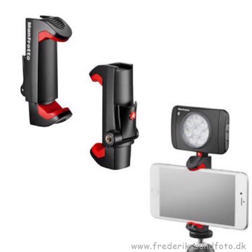 Manfrotto PIXI Universal smartphone Clamp