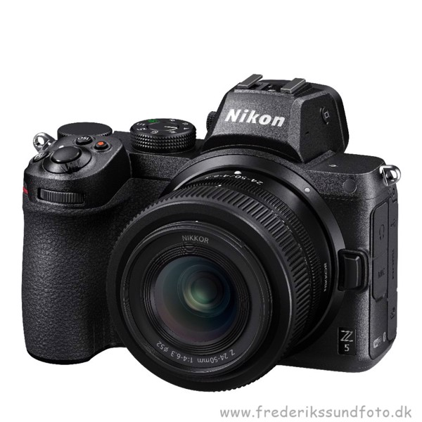 Nikon Z 5  m/24-50mm m/FTZ adapter