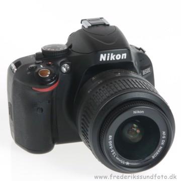 BRUGT Nikon D5100 m/18-55mm VR