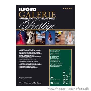 Ilford Galerie Prestige Smooth Gloss 310 gr. 25 ar