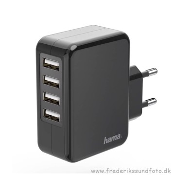 Hama 4X USB lader