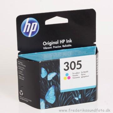 HP 305 farve blækpatron