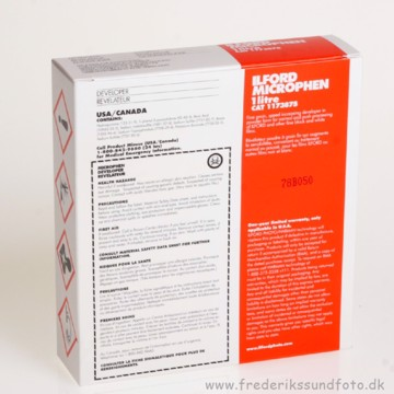 Ilford Microphen Developer 1L til Sort/Hvid film