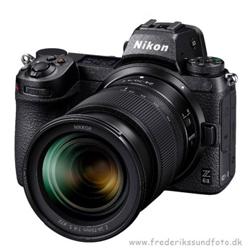 Nikon Z 6 II m/24-70mm f/4 S & FTZ adapter