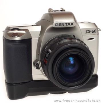 BRUGT Pentax ZX-60 m/35-70mm og batterigreb