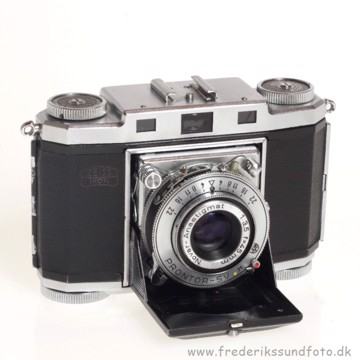 BRUGT Zeiss Ikon Contina Prontor-SV m/45mm f/3.5