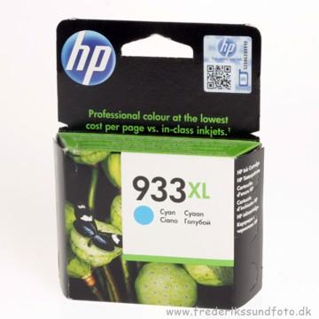 HP 933 XL Cyan blækpatron (Udløbsdato 2016)
