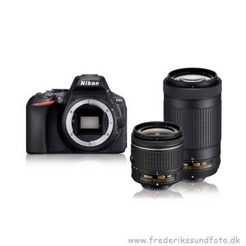 Nikon D5600 18-55mm VR & 70-300mm VR